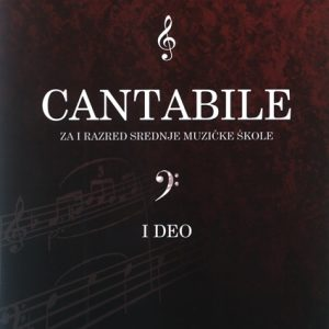 S. Smiljanić-Marković: CANTABILE 1. deo