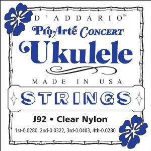 D'ADDARIO J92 – Set žica za ukulele