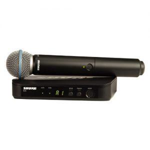 SHURE BLX24E/B58 – Bežični mikrofonski sistem