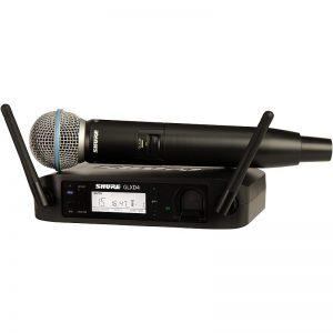 SHURE GLXD24E/BETA58A – Bežični mikrofonski sistem