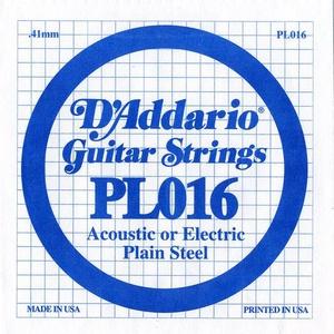 D'ADDARIO PL016 – Pojedinačna žica za gitaru