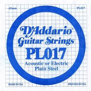D'ADDARIO PL017 – Pojedinačna žica za gitaru