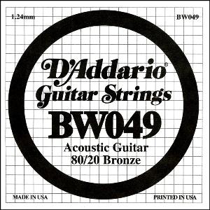 D'ADDARIO BW049 – Pojedinačna žica za akustičnu gitaru