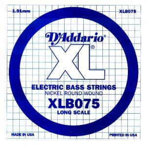 D'ADDARIO XLB075 – Pojedinačna žica za bas gitaru