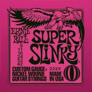 ERNIE BALL 2223 SUPER SLINKY – Set žica za električnu gitaru