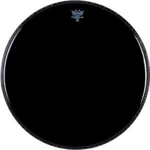 """REMO P3-1022-ES POWERSTROKE® 3 Clear, EBONY®- Opna za bas bubanj 22"""", prednja"""