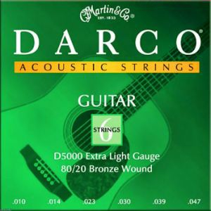 MARTIN & CO. D5000 – Set žica za akustičnu gitaru