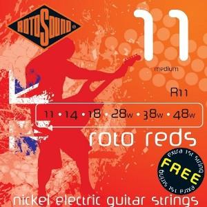 ROTOSOUND R11 ROTO REDS – Set žica za električnu gitaru