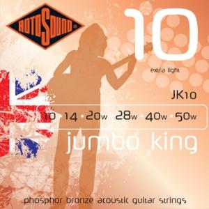ROTOSOUND JK10 – Set žica za akustičnu gitaru