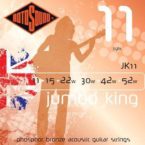 ROTOSOUND JK11 – Set žica za akustičnu gitaru