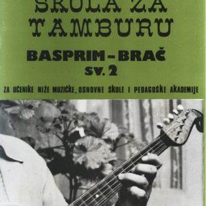 L. Malagurski: ŠKOLA ZA TAMBURU 2 basprim-brač