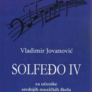 V. Jovanović: SOLFEĐO 4
