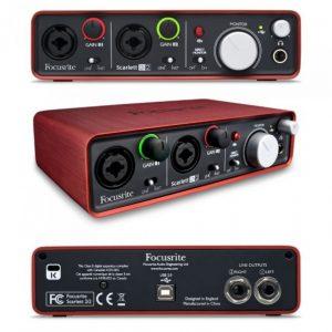 FOCUSRITE SCARLET 2i2 – USB Zvučna kartica