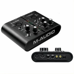 M-AUDIO M-TRACK Plus – USB Zvučna kartica