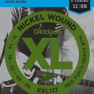 D'ADDARIO EXL117 – Set žica za električnu gitaru