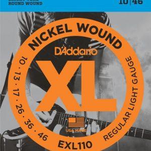 D'ADDARIO EXL110 – Set žica za električnu gitaru