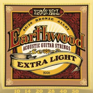 ERNIE BALL EARTHWOOD Ex. Light – Set žica za akustičnu gitaru
