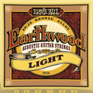 ERNIE BALL EARTHWOOD Light – Set žica za akustičnu gitaru