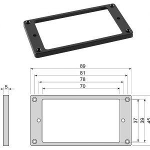 BOSTON HF5050BK – Okvir magneta za LP