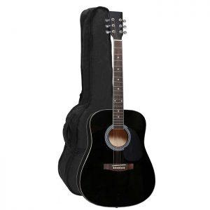 CATALUNA Akustična gitara 4/4 Black – GEWA