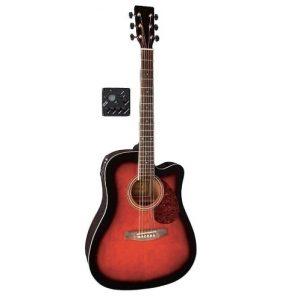 GEWA VGS D10CE Violin Burst – Ozvučena akustična gitara