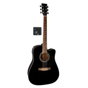 GEWA VGS D10CE Black – Ozvučena akustična gitara