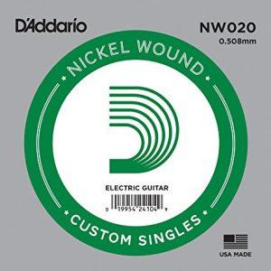 D'ADDARIO NW020 – Pojedinačna žica za električnu gitaru