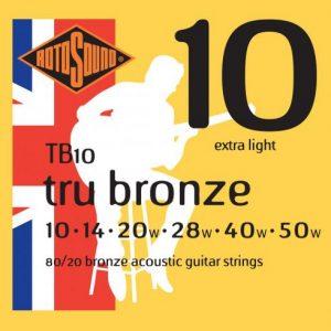 ROTOSOUND TB10 – Set žica za akustičnu gitaru