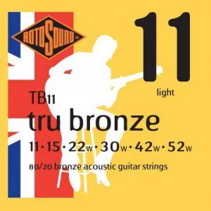 ROTOSOUND TB11 – Set žica za akustičnu gitaru