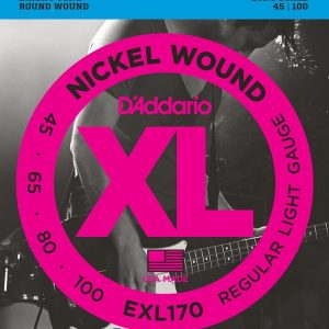 D'ADDARIO EXL170 – Set žica za bas gitaru