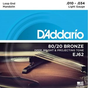 D'ADDARIO EJ62 – Set žica za mandolinu