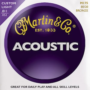MARTIN & CO. M175 – Set žica za akustičnu gitaru