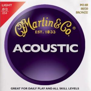 MARTIN & CO. M140 – Set žica za akustičnu gitaru