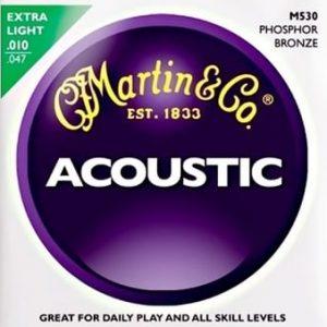 MARTIN & CO. M530 – Set žica za akustičnu gitaru