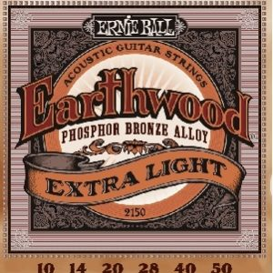 ERNIE BALL EARTHWOOD Phosphor Bronze Ex. Light  – Set žica za akustičnu gitaru