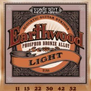 ERNIE BALL EARTHWOOD Phosphor Bronze Light – Set žica za akustičnu gitaru