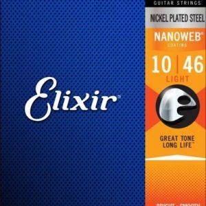 Elixir Strings 12052 Nanoweb – Set žica za električnu gitaru