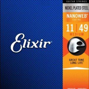 Elixir Strings 12102 Nanoweb – Set žica za električnu gitaru