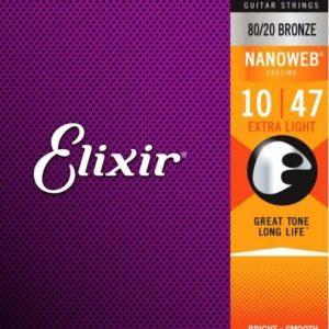 Elixir Strings 11002 Nanoweb – Set žica za akustičnu gitaru