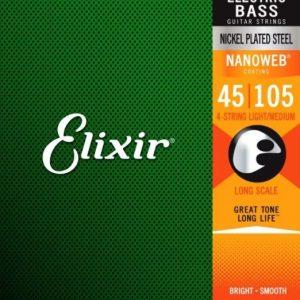 Elixir Strings 14077 Nanoweb – Set žica za bas gitaru
