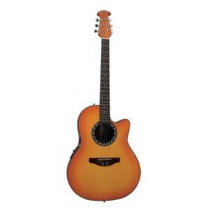 APPLAUSE AB24-HB E-Acoustic BALLADEER MID-CUTAWAY HONEY BURST – Ozvučena akustična gitara