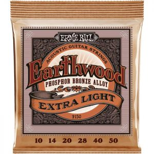 ERNIE BALL EARTHWOOD 2150 Phosphor Bronze Ex. Light  – Set žica za akustičnu gitaru