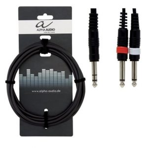 ALPHA AUDIO Y-Cable BASIC Line – Audio kabal, 1,5m