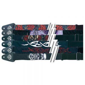 GEWA Guitar Strap FIRE&STONE Tattoo-Edition – Kaiš za gitaru