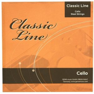 GEWApure Cello Strings CLASSIC LINE – Set žica za violončelo 4/4
