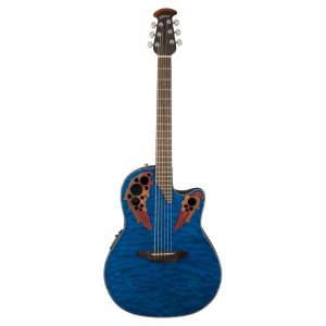 OVATION CE44P-8TQ CELEBRITY ELITE EXOTIC MID-CUTAWAY – Ozvučena akustična gitara