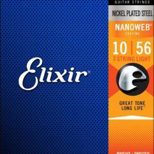Elixir Strings 12057 Nanoweb – Set žica za električnu gitaru sa 7 žica