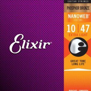 Elixir Strings 16002 Nanoweb – Set žica za akustičnu gitaru