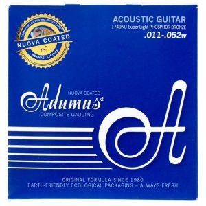 ADAMAS 1749NU Nuova Coated – Set žica za akustičnu gitaru