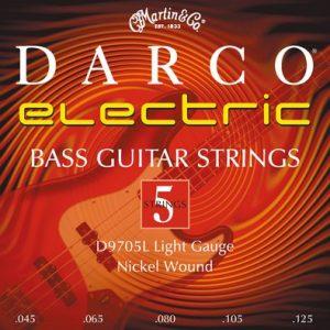 MARTIN & CO. D9705L – Set žica za bas gitaru